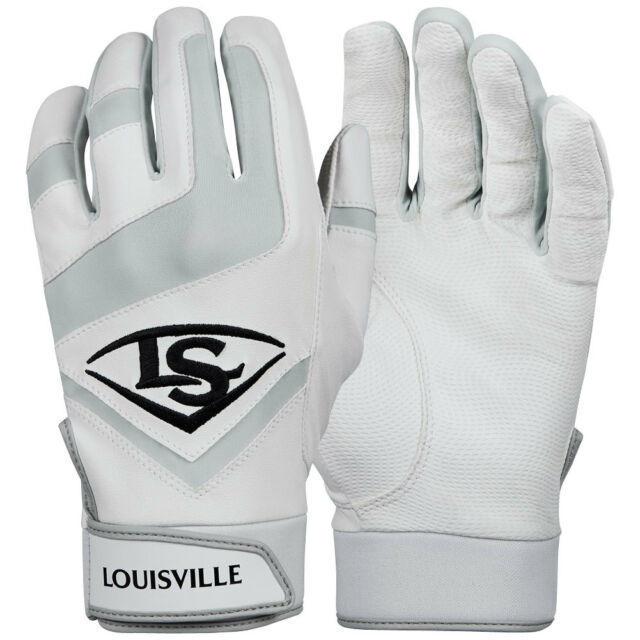 Louisville Slugger Omaha Adult Batting Gloves Medium Orange