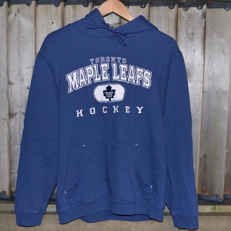 NHL Toronto Maple Leafs Iconic Dynasty Hoody grau