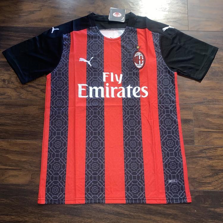 Puma Ac Milan Home Jersey 20 21 Soccer Apparel Jerseys