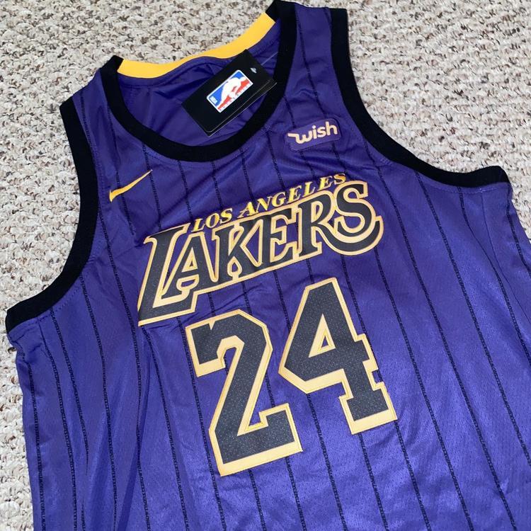 Kobe Bryant Alternate Purple Los Angeles Lakers Adult 52 Jersey | SidelineSwap