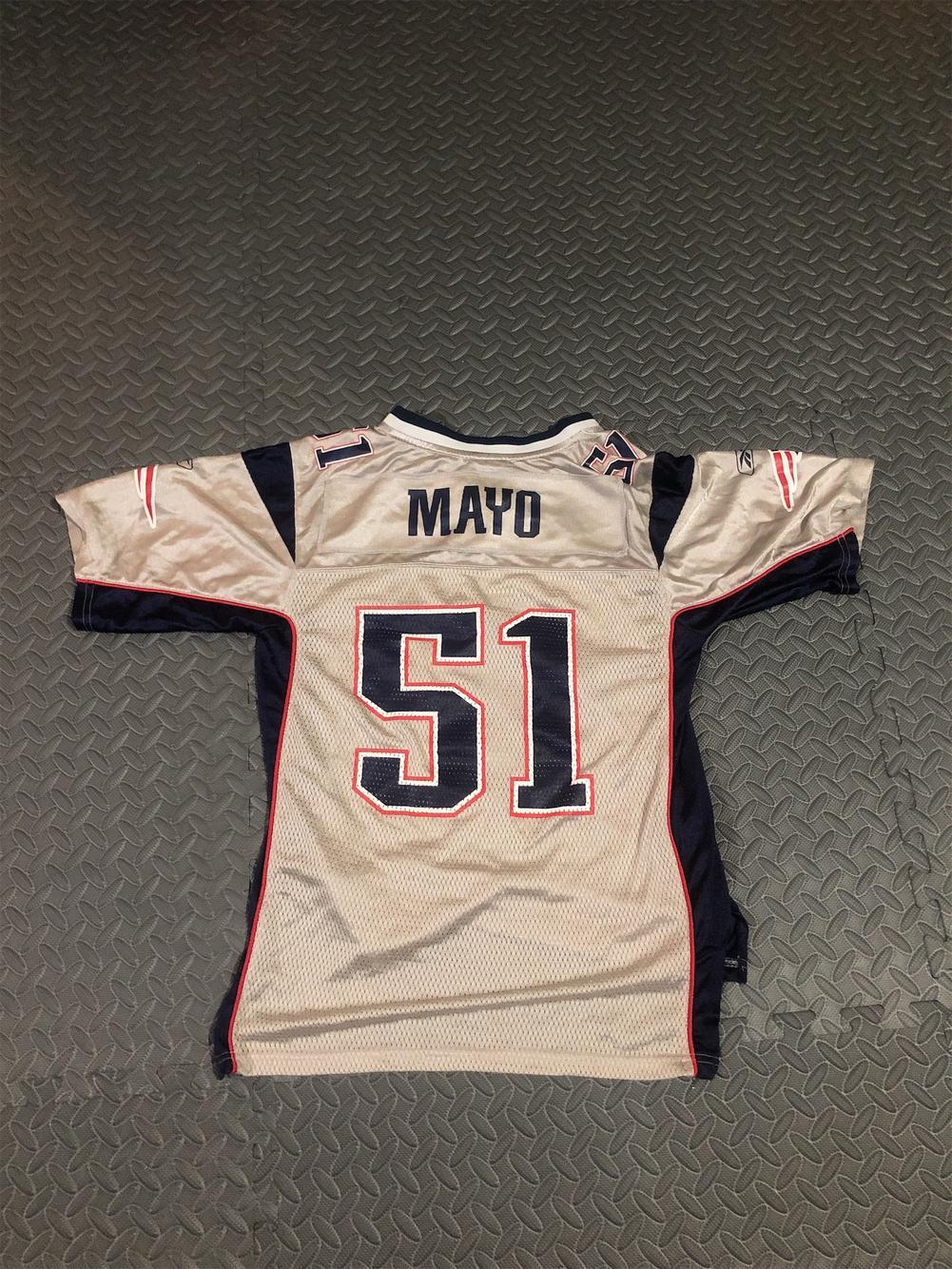 Reebok Jerod Mayo Pats Jersey | Football Apparel