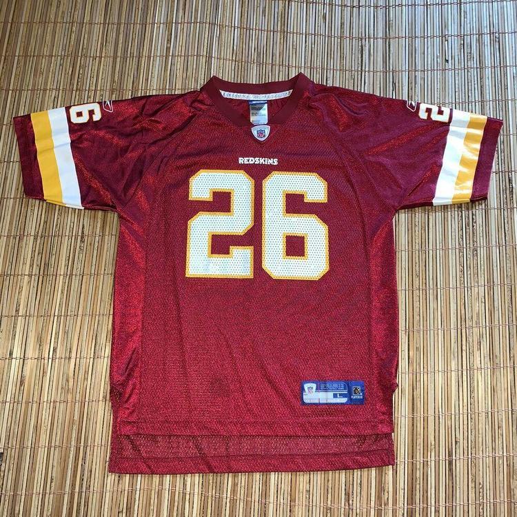 YOUTH Large NFL Washington Redskins Clinton Portis #26 Reebok Football Jersey