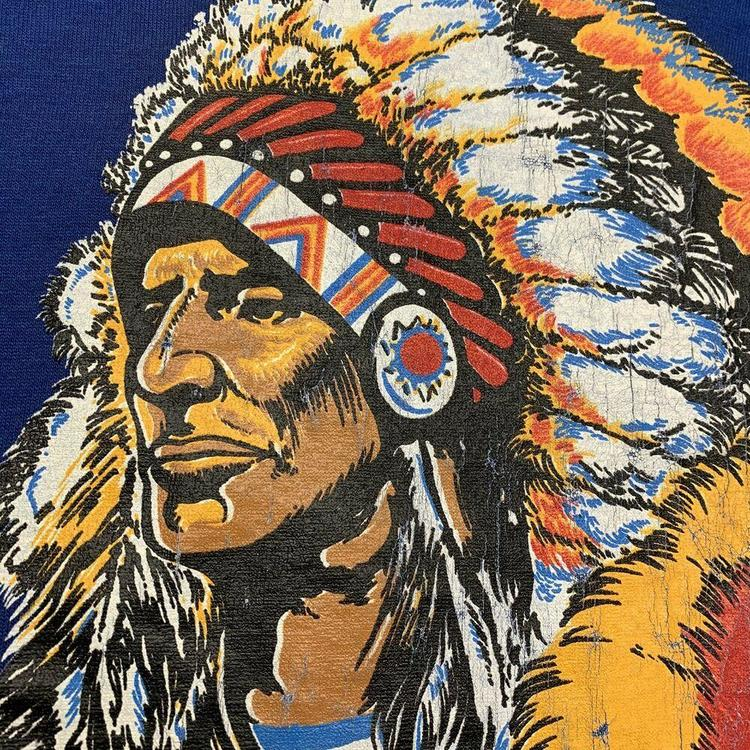 """sizes 38-50/"""" chest 80/'s YMCA Native Indian Chief"""