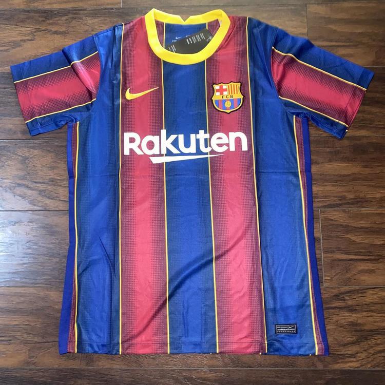 Nike Fc Barcelona Home 20 21 Jersey Soccer Apparel Jerseys