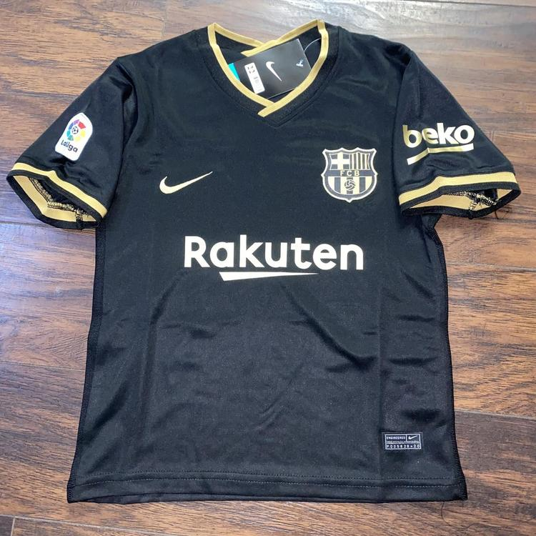 nike fc barcelona away kit kids 20 21 soccer apparel jerseys fc barcelona away kit kids 20 21 sidelineswap