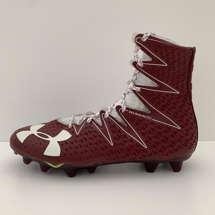 buy \u003e maroon football cleats, Up to 63% OFF