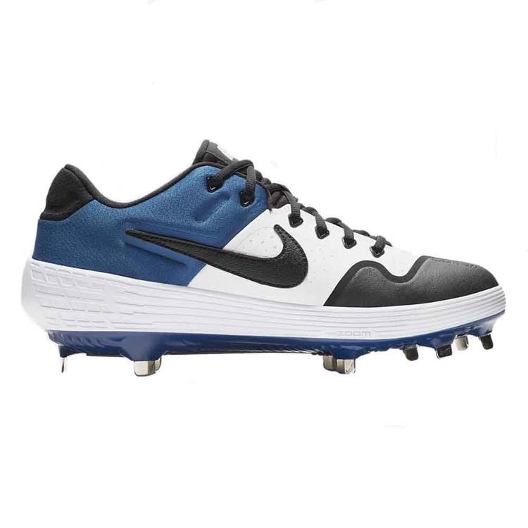 Nike Alpha Huarache Elite 2 Men's Baseball Cleats Size 10 (Black/Blue/White)
