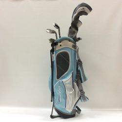 Cobra Used Girls Jr 6 Piece Junior Teen Package Sets Golf Clubs