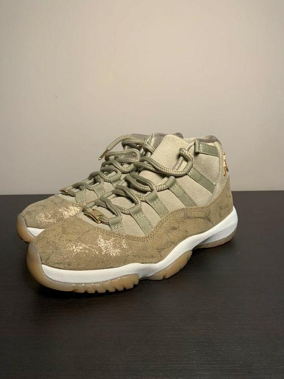 Nike Air Jordan 11 Retro 'Olive Lux' Shoes (AR0715-200) Women's Size 6.5