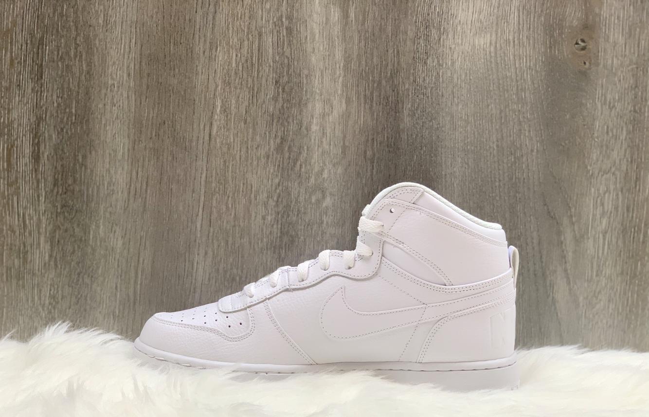 Nike Big High Triple White Shoes