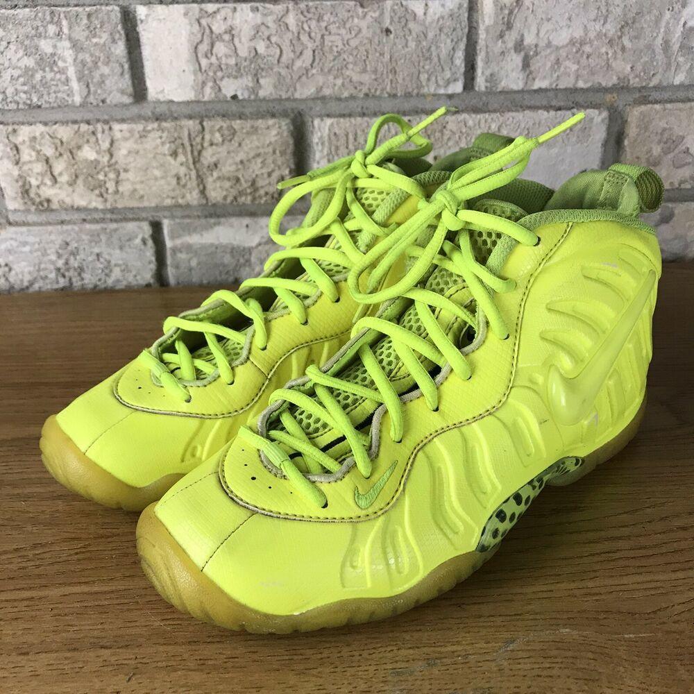 Foamposite Pro Neon Yellow Volt Tennis