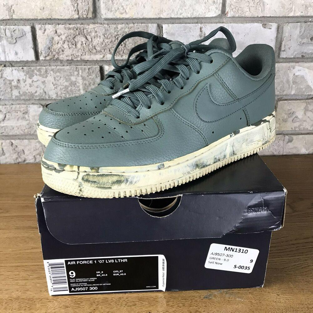 Nike AIR FORCE 1 07 LV8 LEATHER CLAY