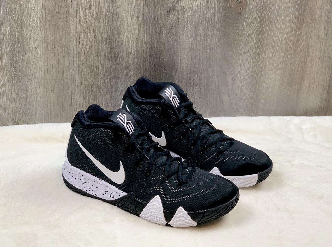 Nike Kyrie 4 TB Black White Sneakers