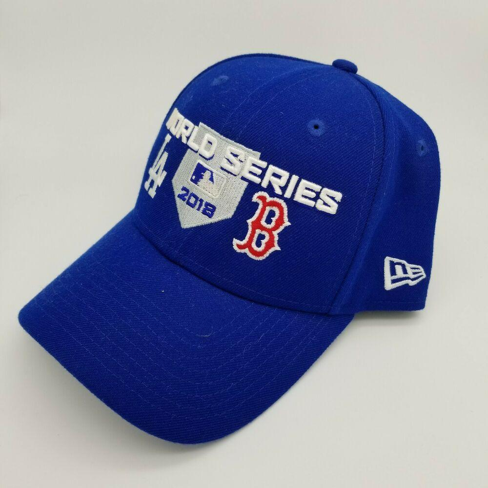 New Era Boston Red Sox Los Angeles Dodgers World Series 2018 Adjustable Cap Hat Baseball Apparel Jerseys