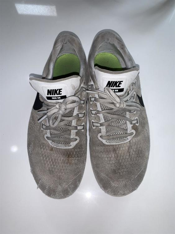 Nike Gray Men's Free Run Size 10