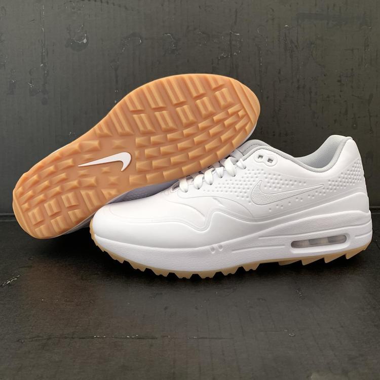 Nike Air Max 1 White Gum Men S Size 8 Women S Size 9 Golf Shoes