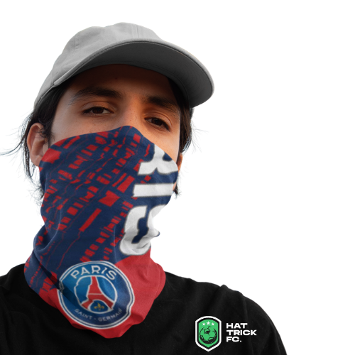 Psg Fc 12 In 1 Multi Functional Reusable Face Mask Neck Gaiter Washable Soccer Apparel Jerseys