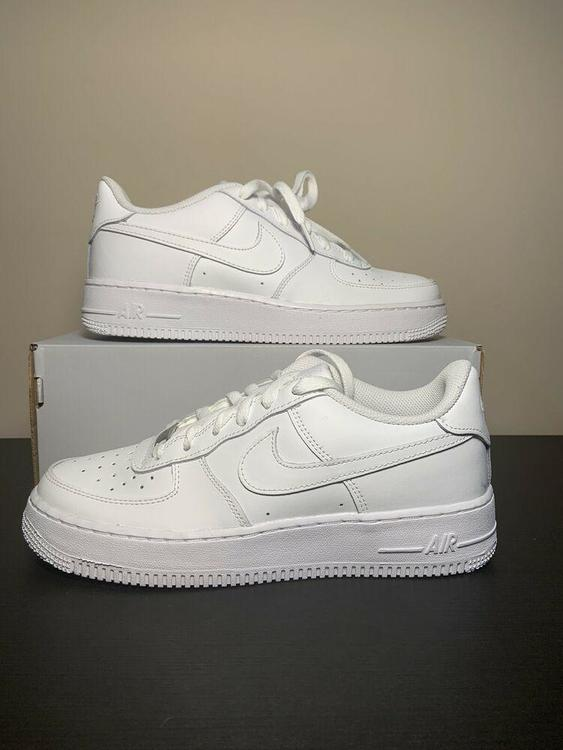 Nike Big Kids Air Force 1 Low Casual Shoes White 314192 117 Size