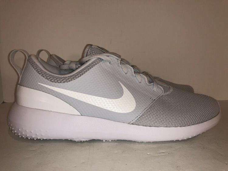 Nike New Roshe G Pure Size 8 Men Platinum White Aa1837 002 Golf Shoes