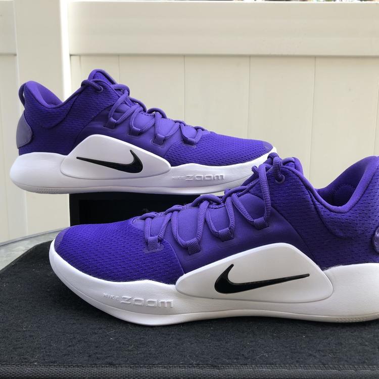 hyperdunk X low TB court purple size