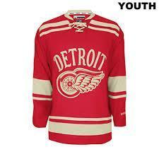 new red wings jersey