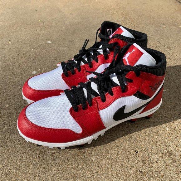Air Jordan Nike Jordan 1 10 5us Football Cleats