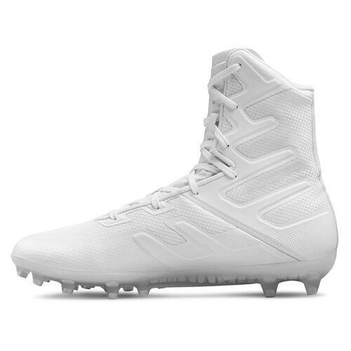 Under Armour White UA Highlight Cleats