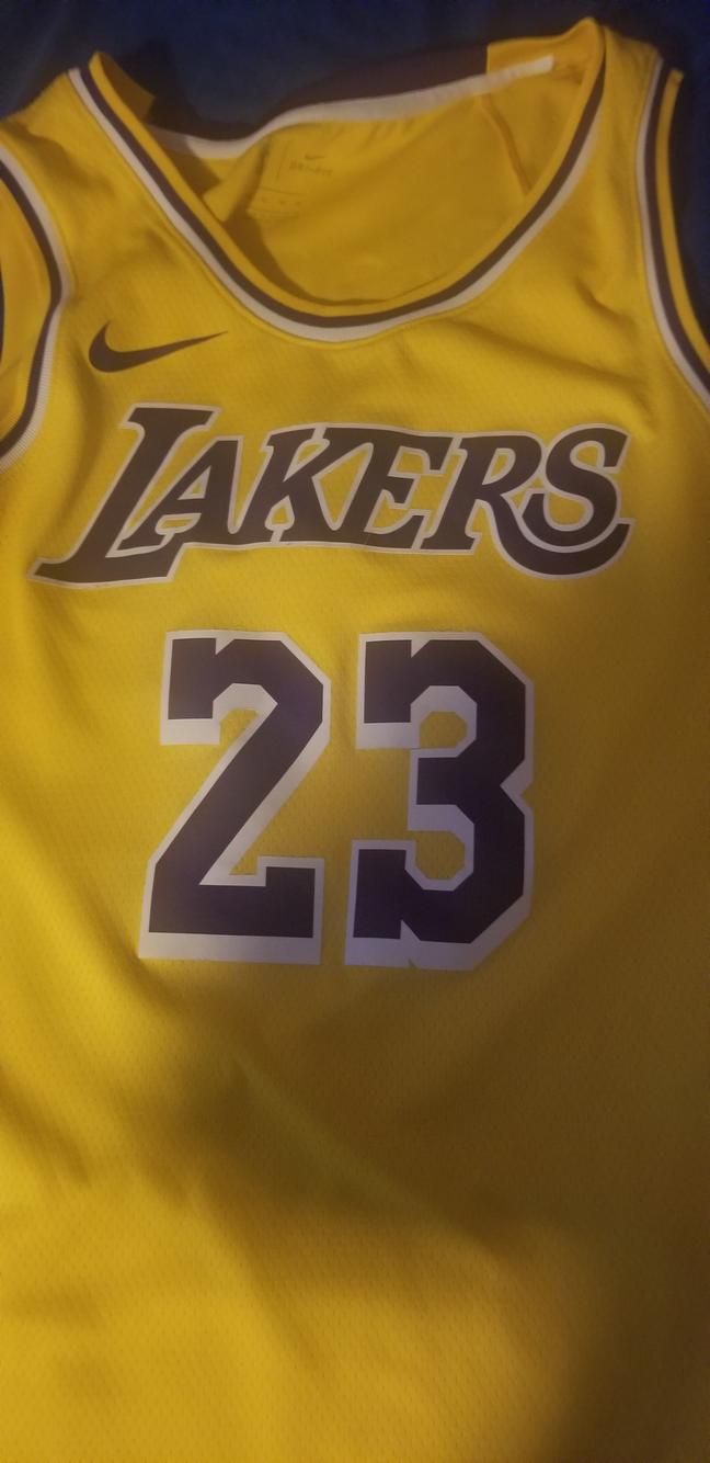 Used Adult XL Lebron James jersey