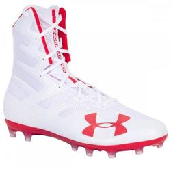Under Armour Highlight Mc Le Mens Size 12 New Red White Blue Football Cleats
