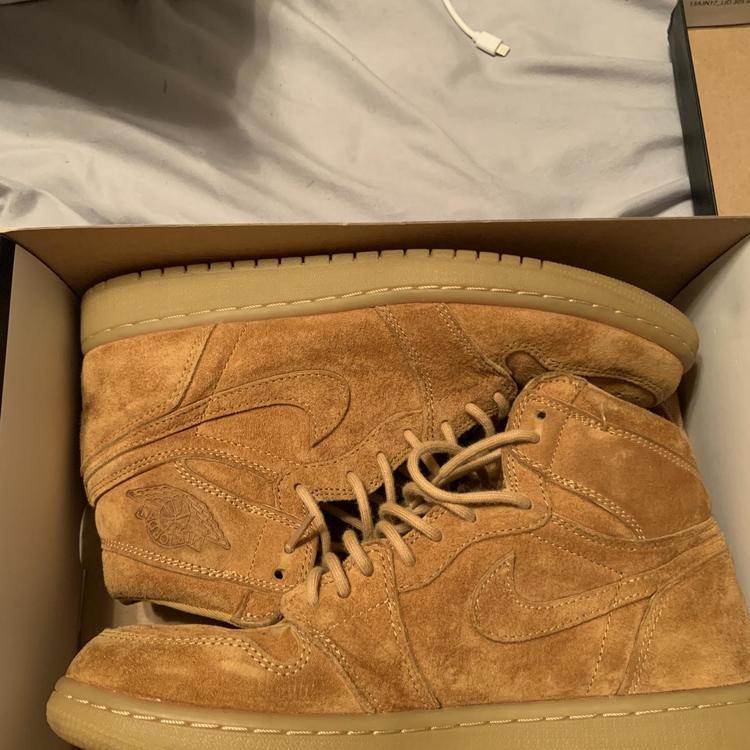 """Air Jordan Retro """"Wheat"""" Jordan 1s"""