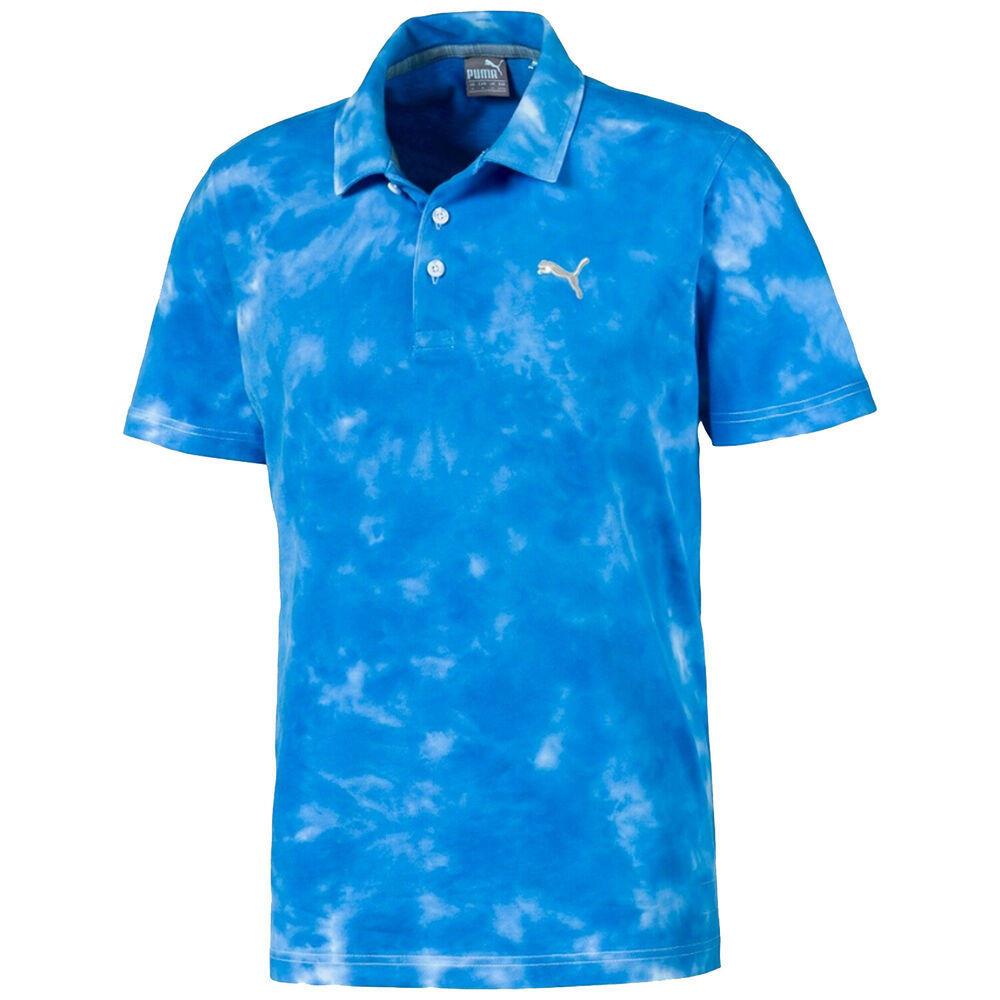 NEW Puma Haight Ibiza Blue Golf Polo/Shirt Men's Extra Large (XL)