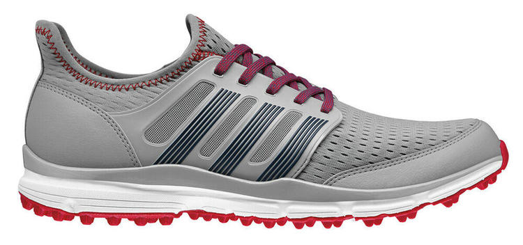 NEW Adidas Climacool Grey/Red Men's Size 9.5 Medium Spikeless Golf Shoes