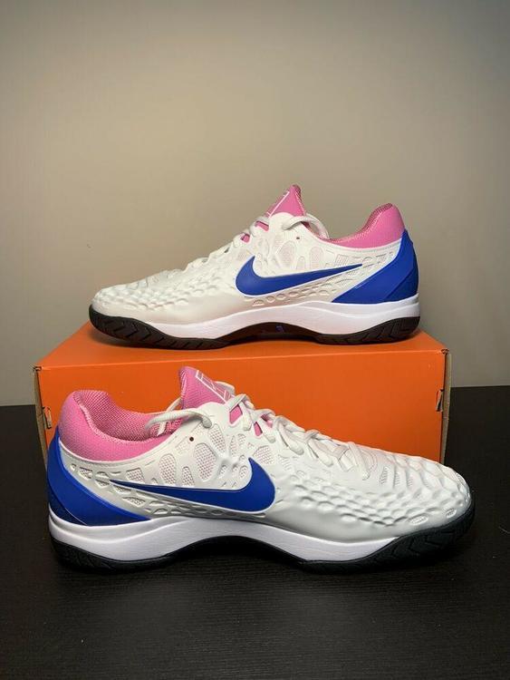 Nike Air Zoom Cage 3 Nadal Mens Tennis Shoe Sneakers White 918193 107 Size 11 Footwear Turfs Indoor Sneakers Training