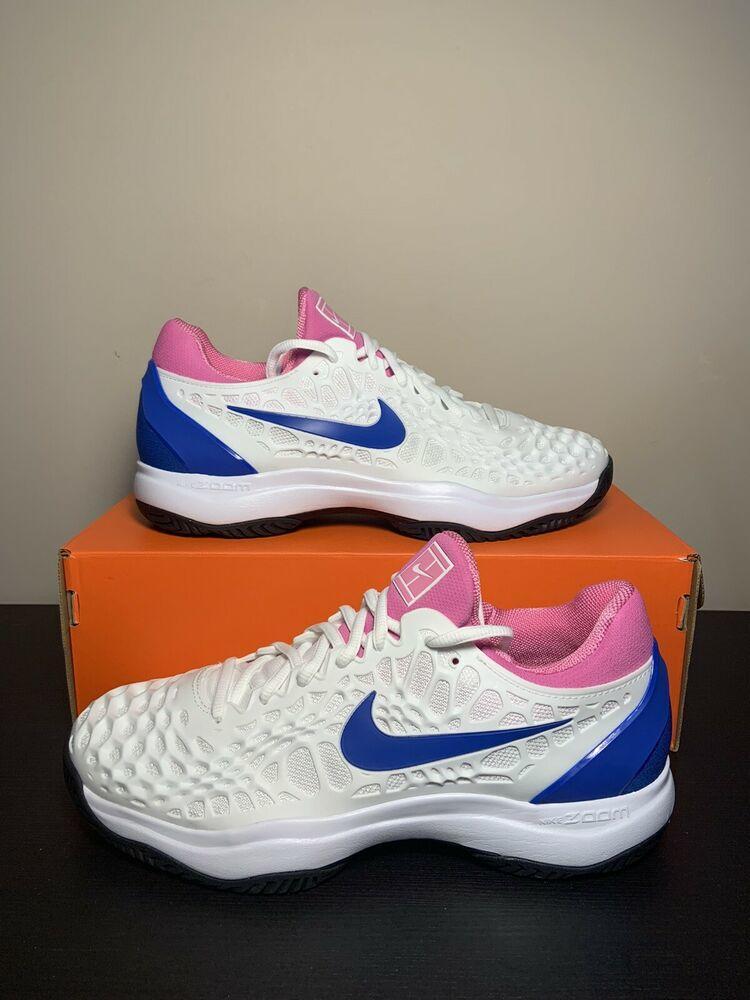 Nike Air Zoom Cage 3 Nadal Mens Tennis Shoe Sneakers White 918193 107 Size 8 5 Footwear Turfs Indoor Sneakers Training