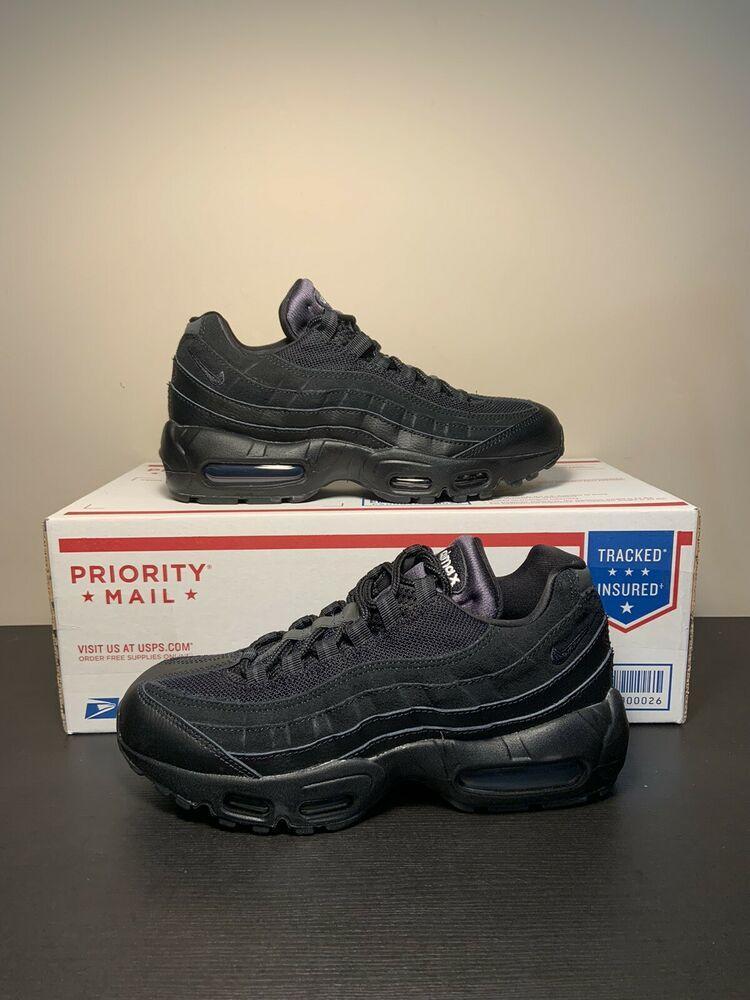 New Nike Air Max 95 Essential 'Triple Black' Men's Size 6.5 ...