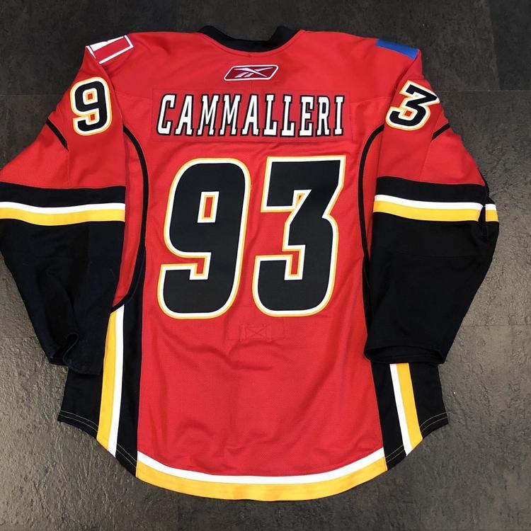Reebok Authentic Rbk On Ice Edge 1 0 Calgary Flames Cammalleri Jersey Sz 52 Hockey Apparel Jerseys Socks
