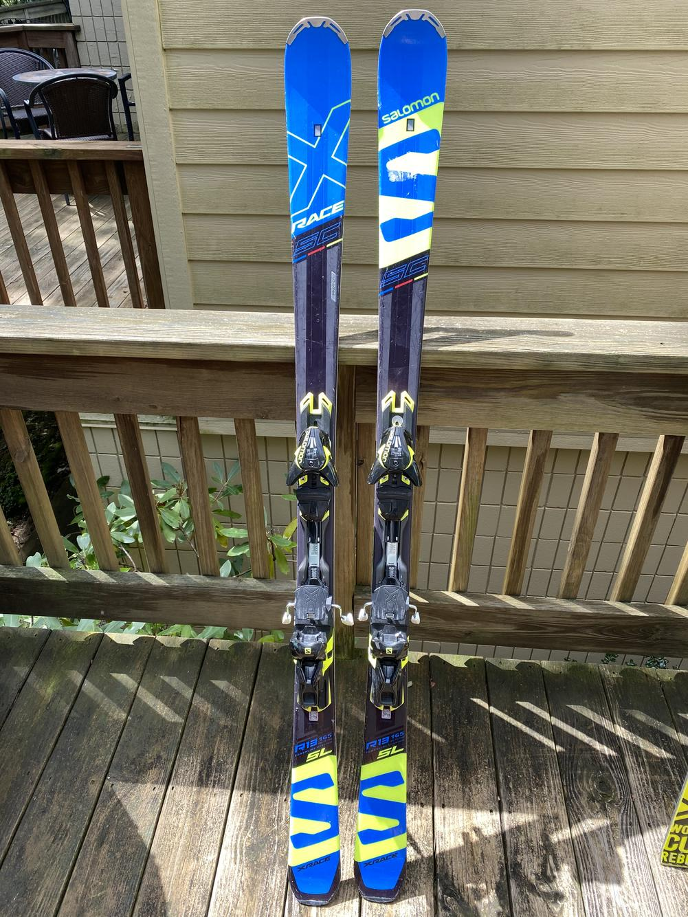 gemma Contento verdetto  Salomon Used Racing SL With Bindings | Skiing Skis