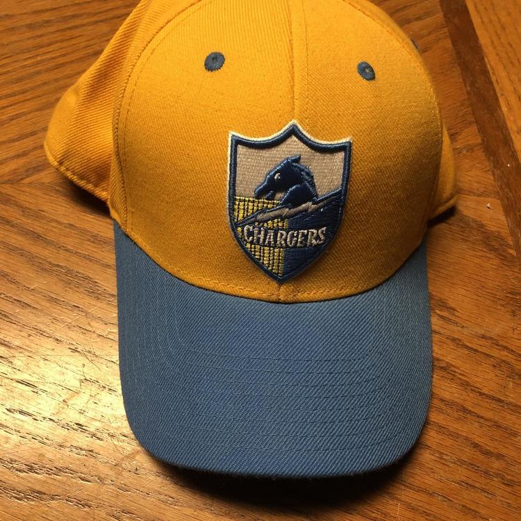 Reebok San Diego Chargers Trucker Retro Sport Hat Women OSFA
