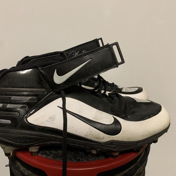 Nike Custom Gold White Black Size 12