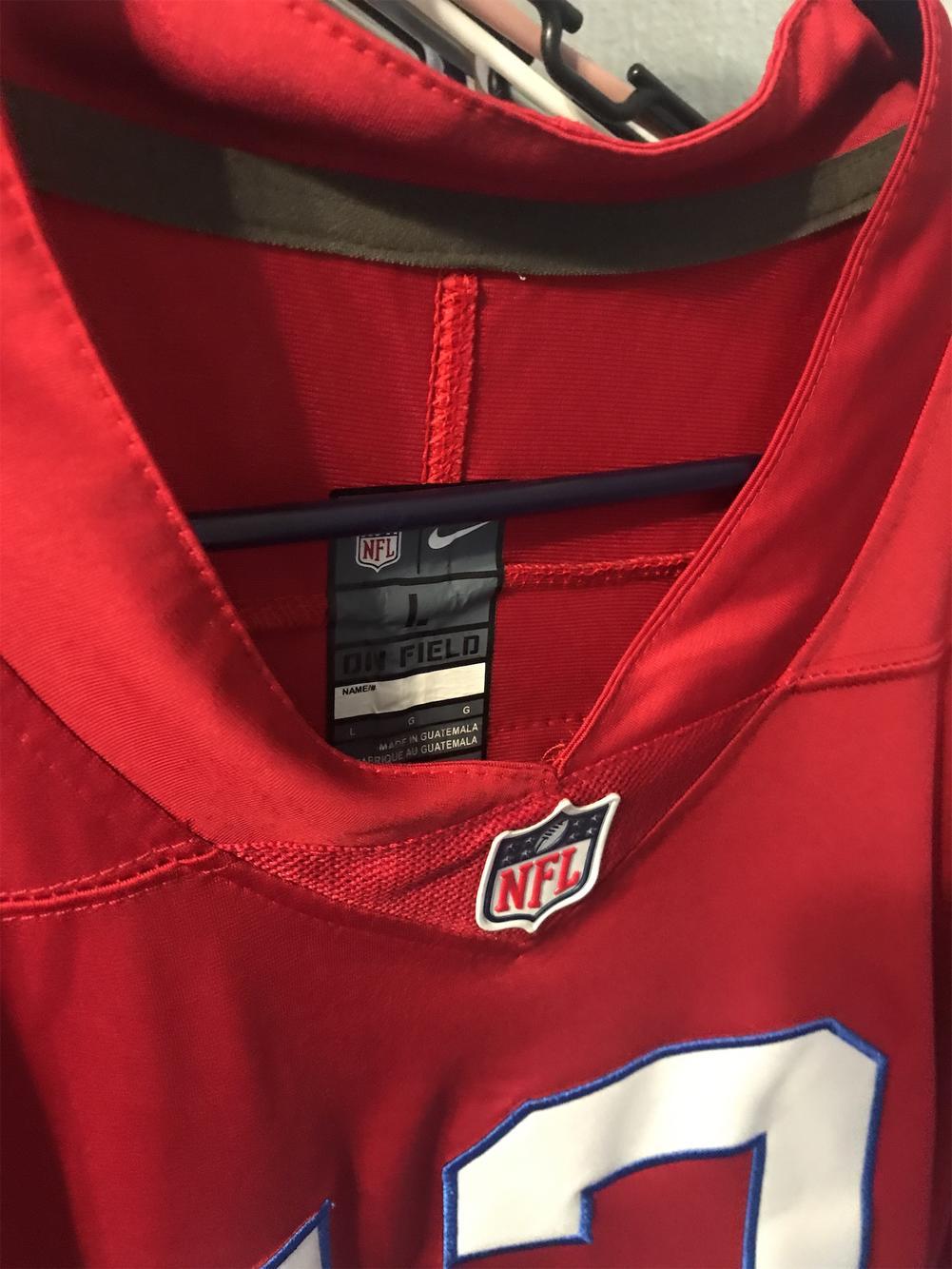 Red Men's Large Nike Tom Brady Jersey | SidelineSwap