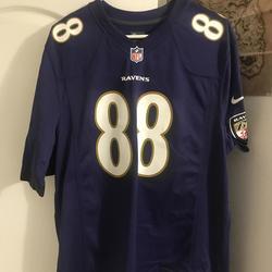 Men's Baltimore Ravens Dennis Pitta Nike Purple Game Player Jersey ...
