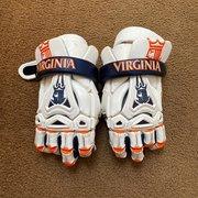 """Used Brine King 13"""" Lacrosse Gloves"""