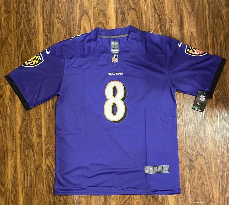Lamar Jackson Baltimore Ravens Nike NFL Limited Jersey