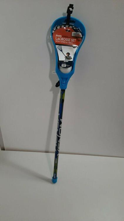 Franklin 32 inch lacrosse set with  1 stick /& 1 ball