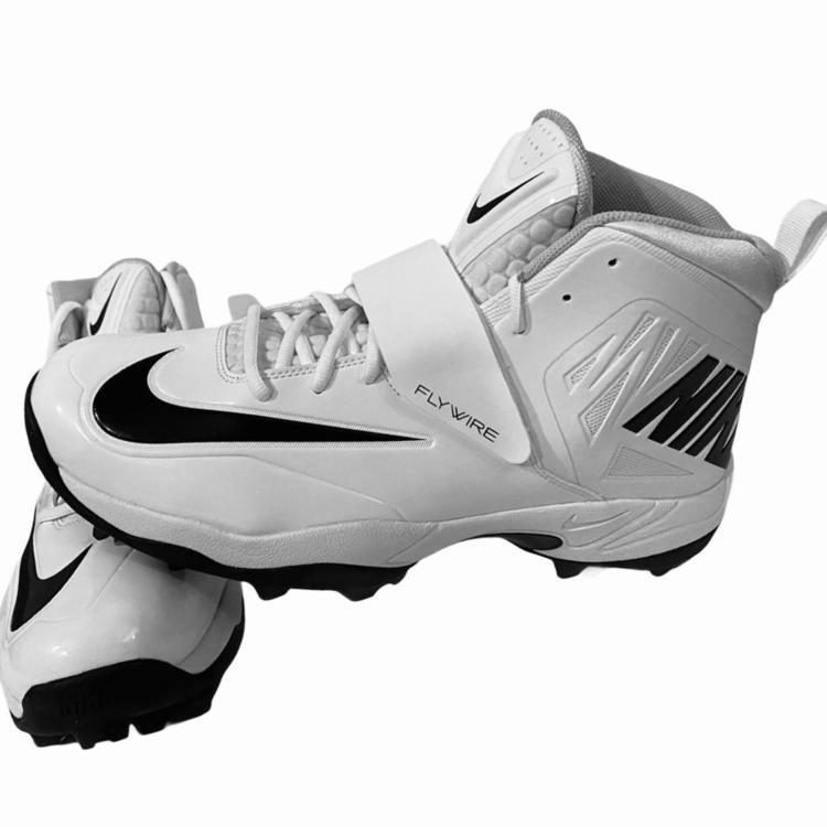 Nike Flywire Turf Lineman White/Black