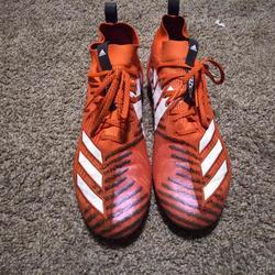 burnt orange football cleats