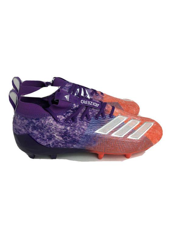 purple lacrosse cleats