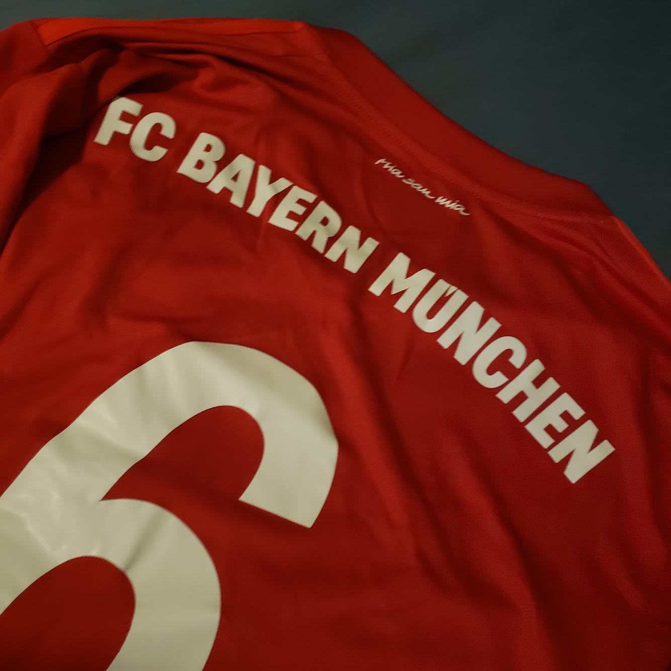 2019/20 Bayern Munich #6 Thiago Long Sleeve Home Jersey ...