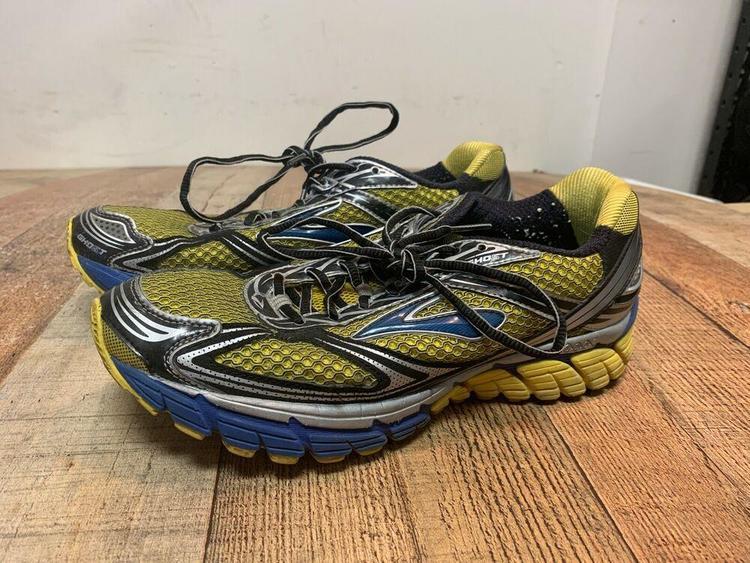 Brooks Ghost 5 Yellow/Blue Running