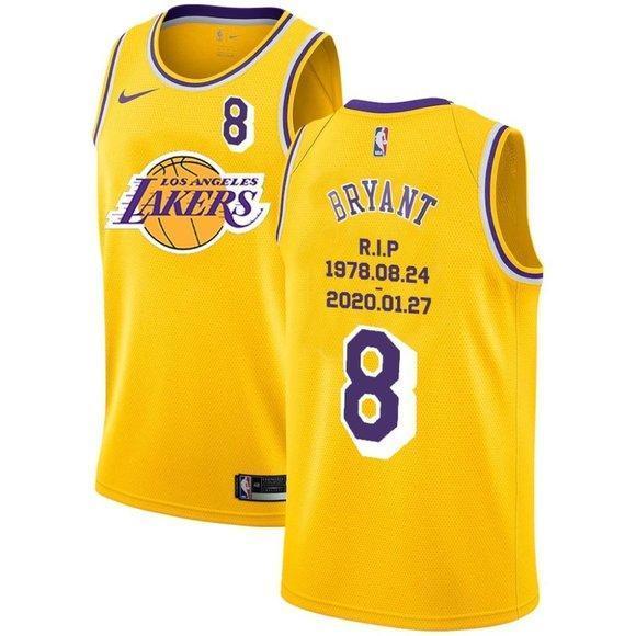 Los Angeles Lakers 8 Kobe Bryant Jersey